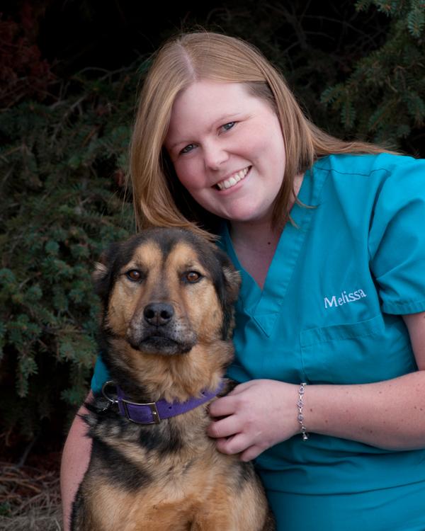 Melissa Wolford Veterinary Technician since 2012